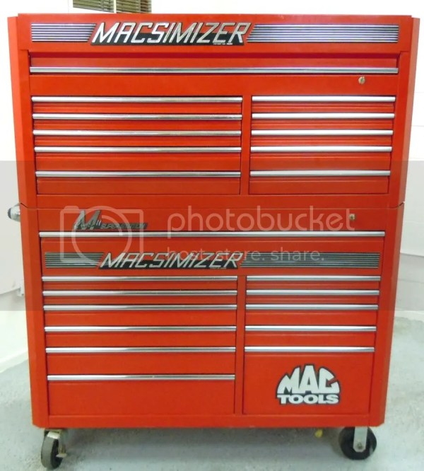 Mac Tool Box Chest Cabinet Macsimizer M Class Superstation