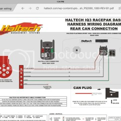 Haltech Iq3 Wiring Diagram Plot For The Treasure Of Lemon Brown Racepak Can Connector Rx7club
