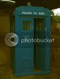TARDIS DVD cabinet