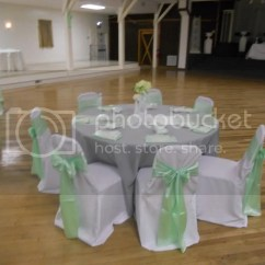 Mint Chair Sashes Target Foldable Lawn Chairs Fs Runners Napkins Vases Green White
