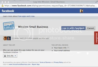 Mission Small Business Vote for Social Savvy Geek Step 2