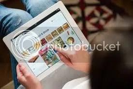 Browsing Social Media from iPad