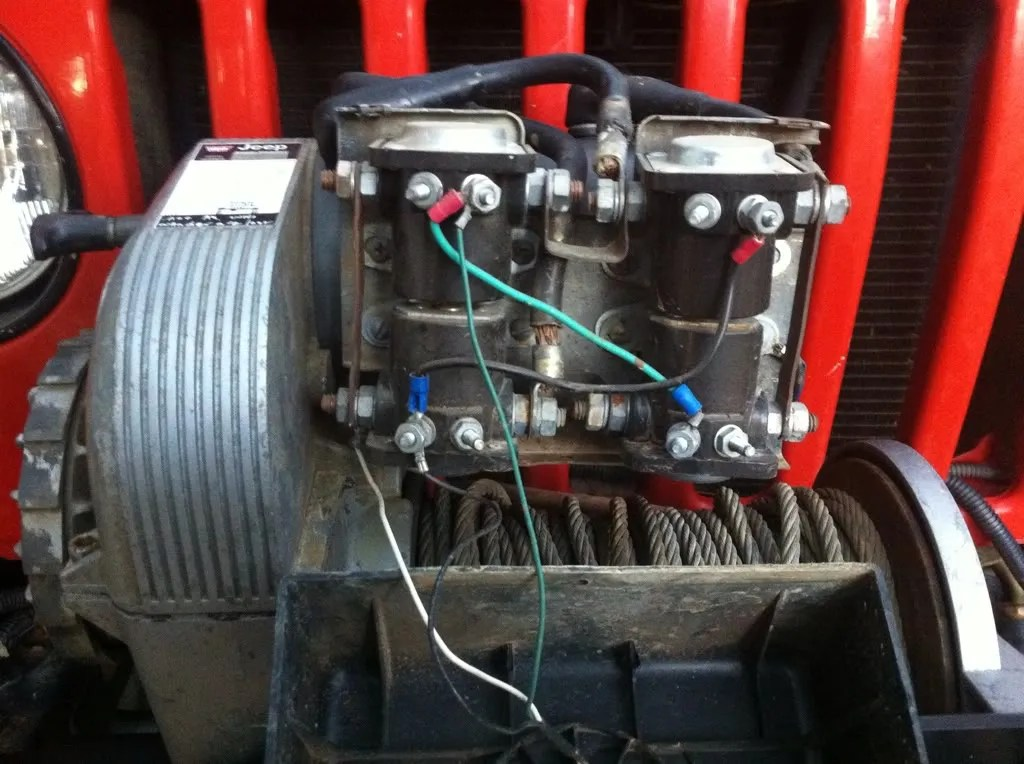 Warn Winch Wiring Diagram As Well Winch Solenoid Wiring Diagram In