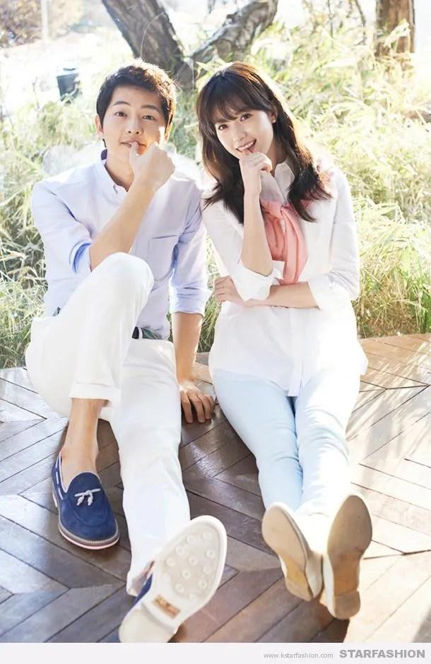 Wallpaper Song Joong Ki Cute Han Hyo Joo And Song Joong Ki Are A Spring Perfect Couple
