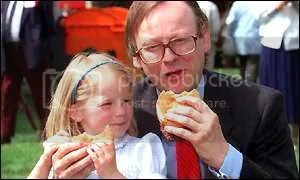 UK politician forced 4yo daughter to eat burger