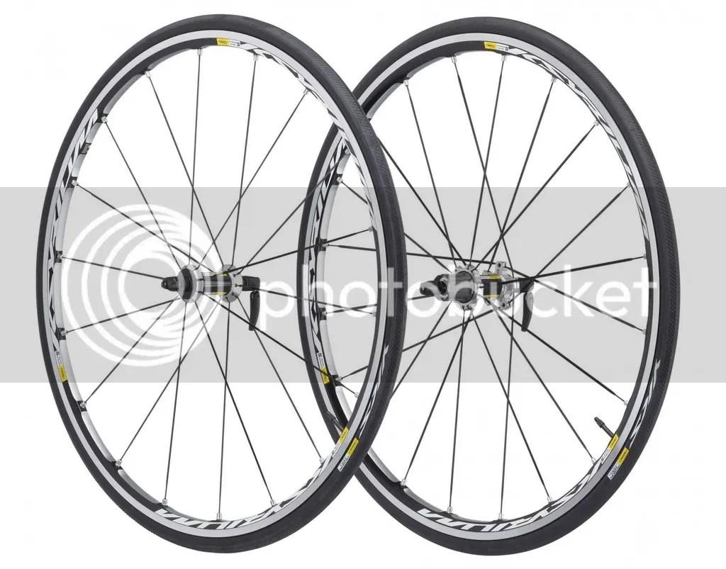 Mavic Ksyrium Elite S Road Clincher Wheelset Shimano