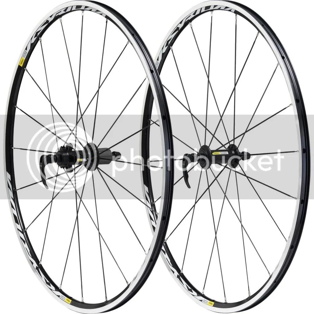 Mavic Cosmic Elite S Road Clincher Wheelset Shimano/SRAM