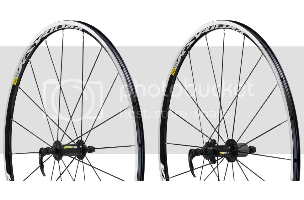 Mavic Ksyrium Equipe Road Clincher Wheelset Shimano/SRAM