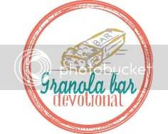 Granola Bar Devotional