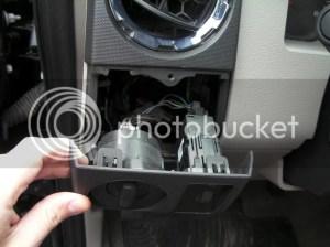 Ford OEM Fog lampwiring harness install 2008 F250 XLT 5