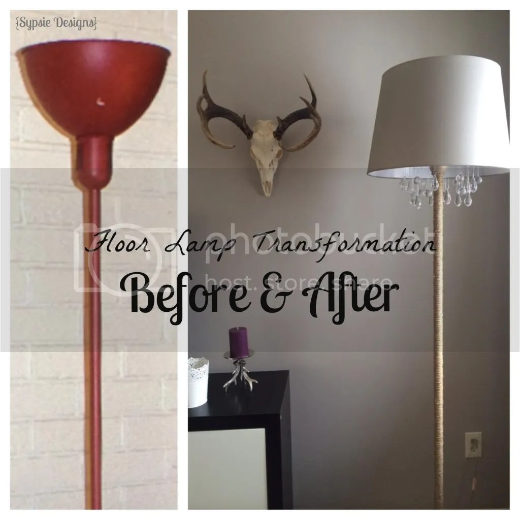 DIY Chandelier Lamp