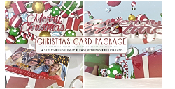 VideoHive: Christmas Card Package (AE-Project)