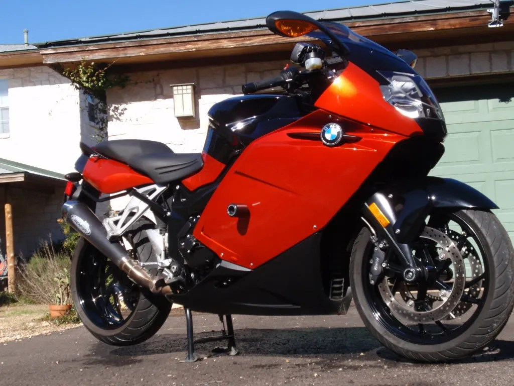 Bmw K1200s Custom Paint