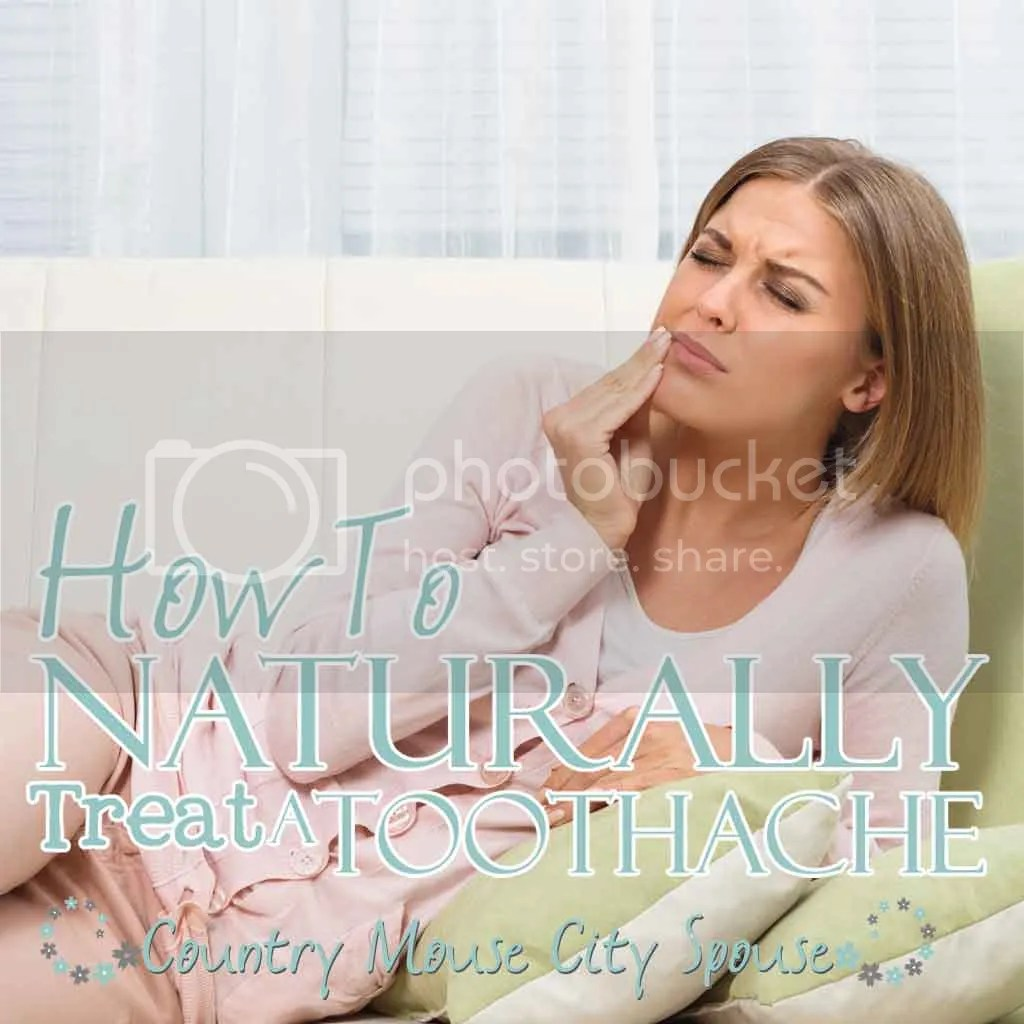 How To Naturally Treat A Toothache- Country Mouse City Spouse