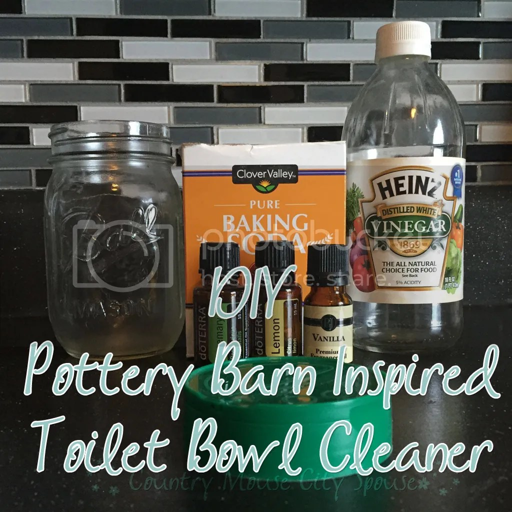 Country Mouse City Spouse- DIY Pottery Barn Inspired Toilet Bowl Cleaner