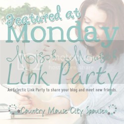 I was Featured at Monday Mish Mash Link Party with Country Mouse City Spouse