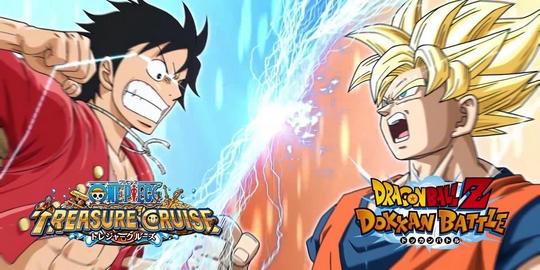 Actu Jeux Vidéo, Dragon Ball Z Dokkan Battle, Jeux Vidéo, One Piece Treasure Cruise, Smartphone,