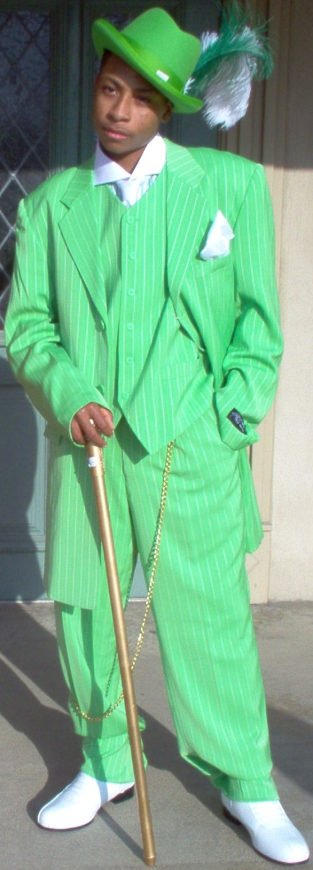 Zoot Suit The Fashion Started By African American Men And