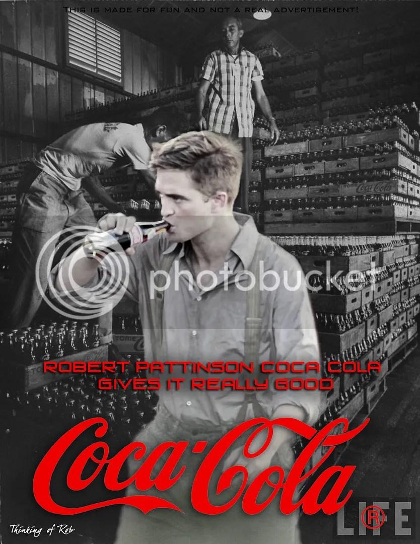 Spoof ads,Robert Pattinson,Coca Cola