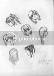 anime haircuts girls