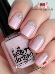 cosmetic cupcake pink and gold
