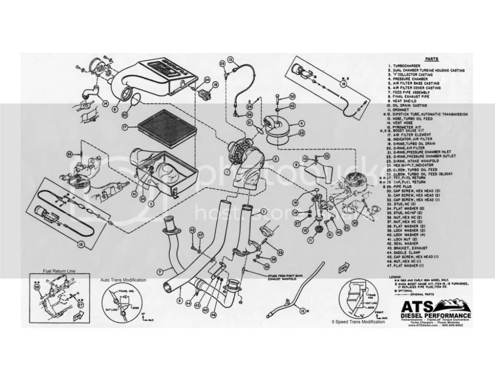 medium resolution of 6 0 fuel filter housing parts wiring diagram technic ford 6 0 turbo diagram