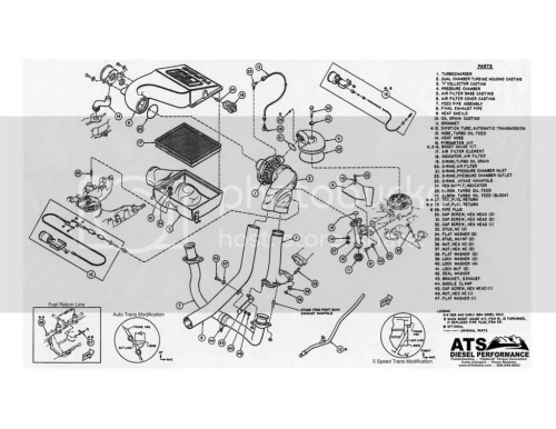 small resolution of ford 7 3 parts diagram wiring diagram for you 2006 ford 6 0 diesel turbo diagram 89