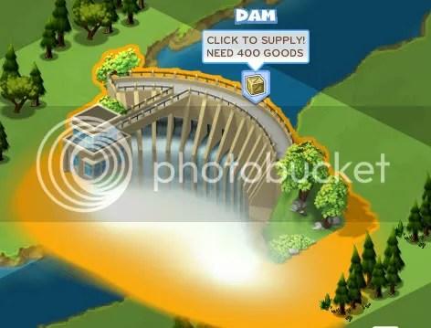 approvisionnement barrage