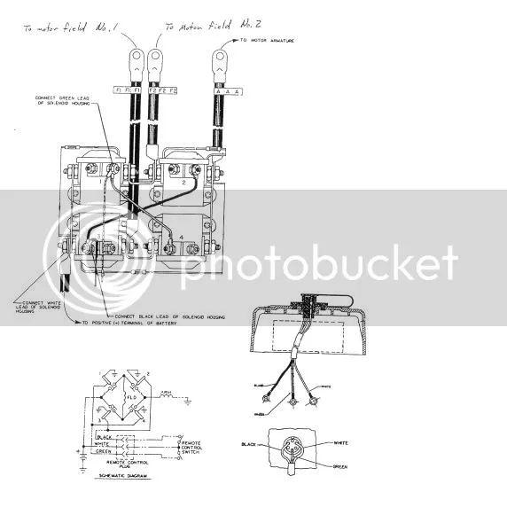 6 prong warn winch wiring diagram