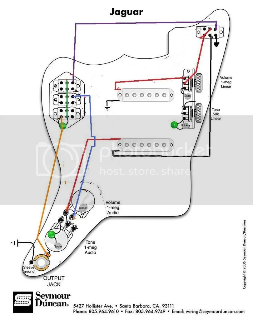 medium resolution of squier jaguar wiring wiring diagram vm jaguar pickups in series wiring