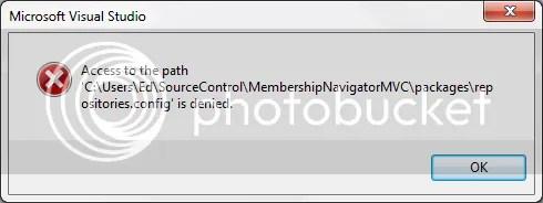 MVC 4 Error