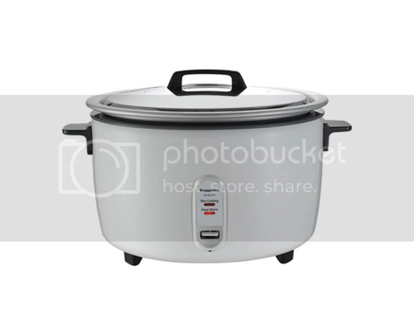 Panasonic Sr-ga721 40 Cup 7.2l Commerical Rice Cooker 220v