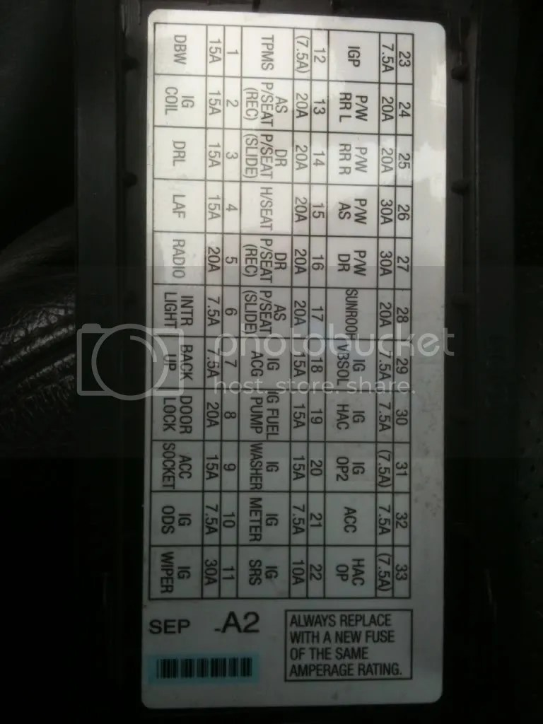 medium resolution of 2008 acura mdx fuse diagram