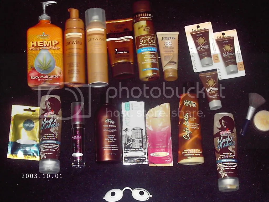 fake tanning lotions