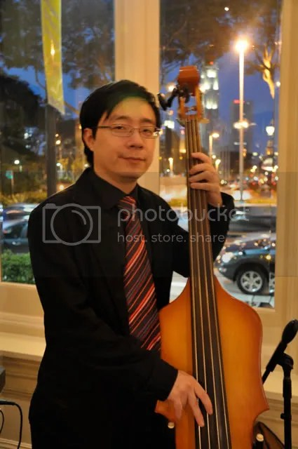 Electric Upright Bass: Paul Chee