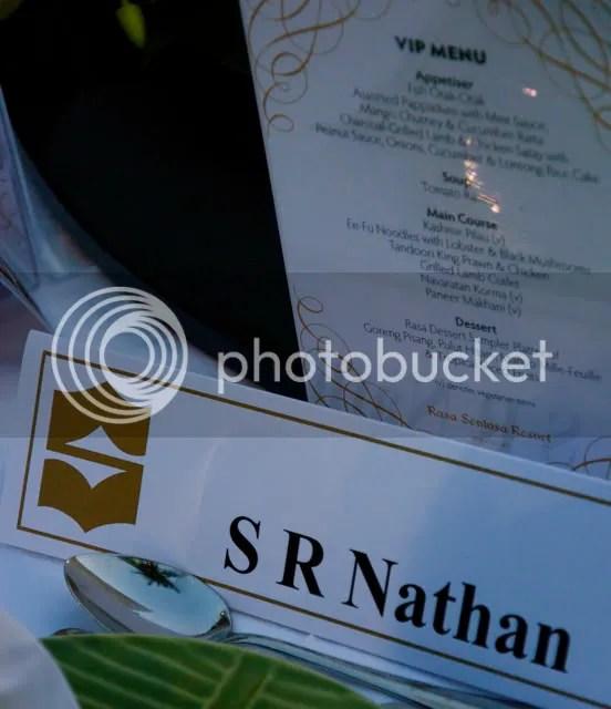 S R Nathan