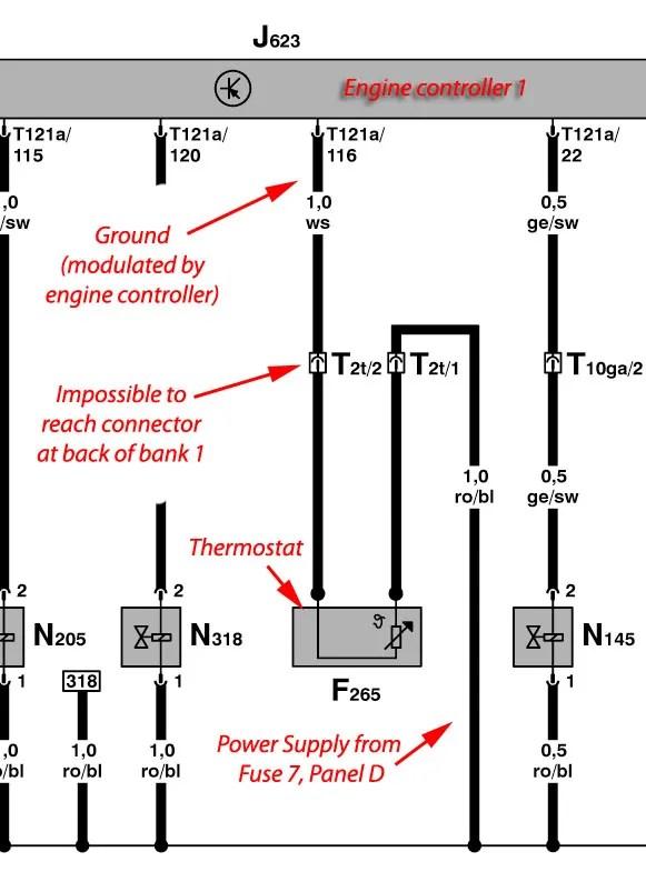 vw touareg 2005 wiring diagram 2003 nissan sentra stereo vwvortex com very high coolant temperature v8 engine