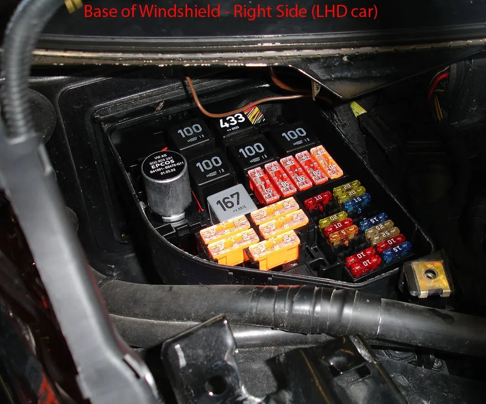 hight resolution of audi a4 fuse box location 2004