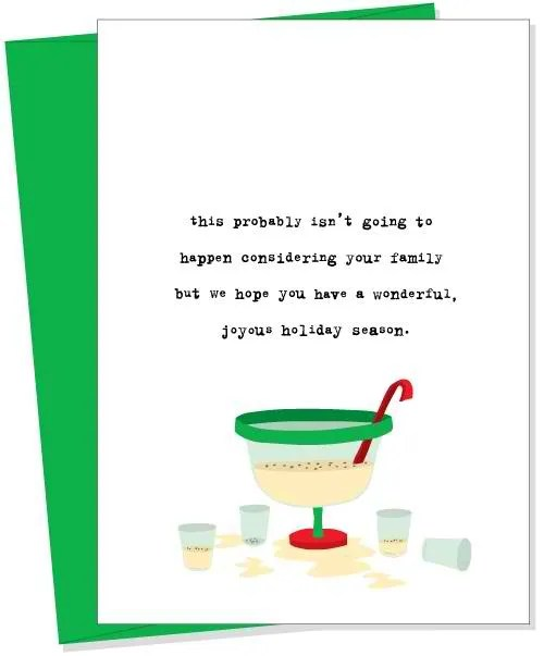 15 Of The Funniest Christmas Cards Zero Fruitcake Jokes