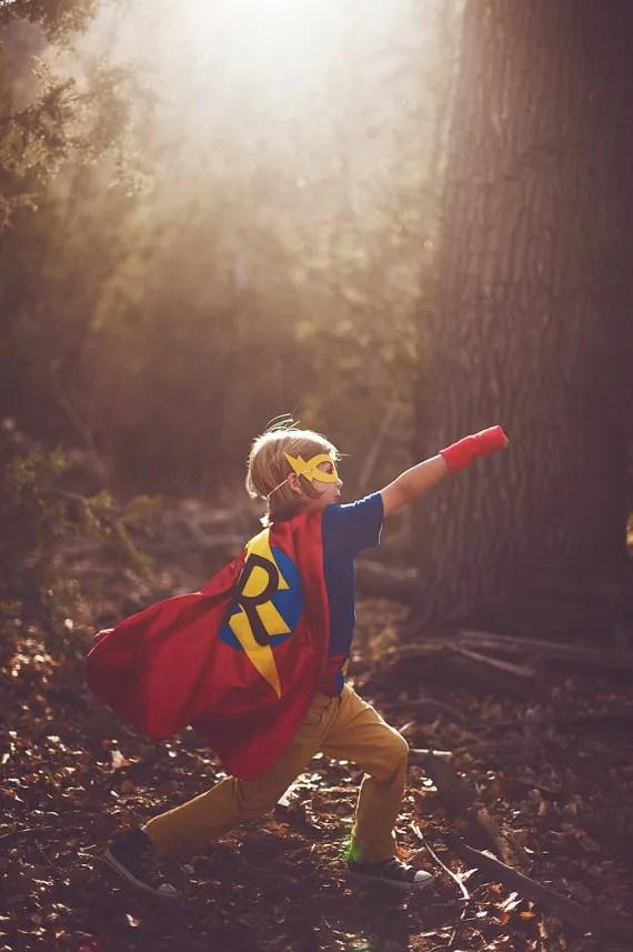 Wham Pow Gorgeous custom superhero capes for your kids