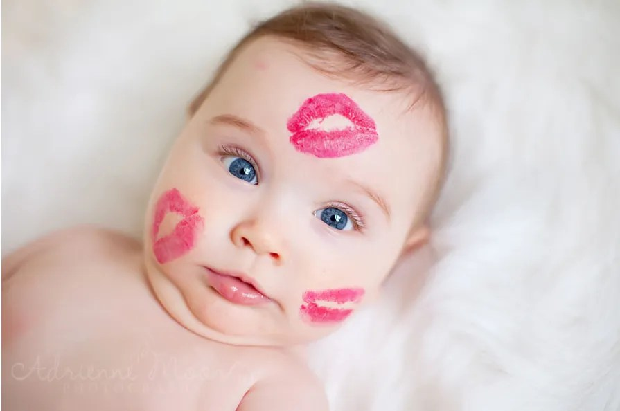 7 Adorable Baby Photo Ideas For Valentines Day Cool Mom