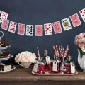 Alice in wonderland party garland at country living cool mom picks