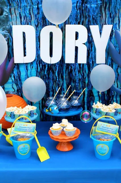 Over 20 Of The Best Finding Dory Birthday Party Ideas
