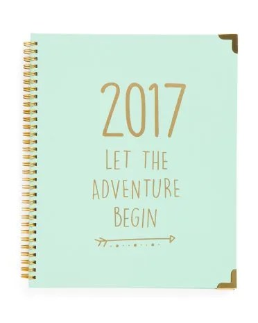 7 inspirational 2017 planners