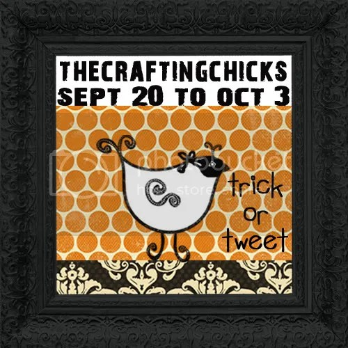 Trick or Tweet with The Crafting Chicks