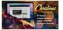 VideoHive: Christmas Mockup Kit (AE-Project)