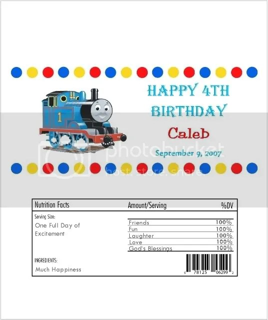 thomas candy wrap