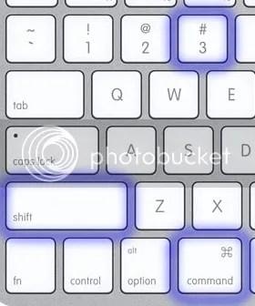 comando mac: