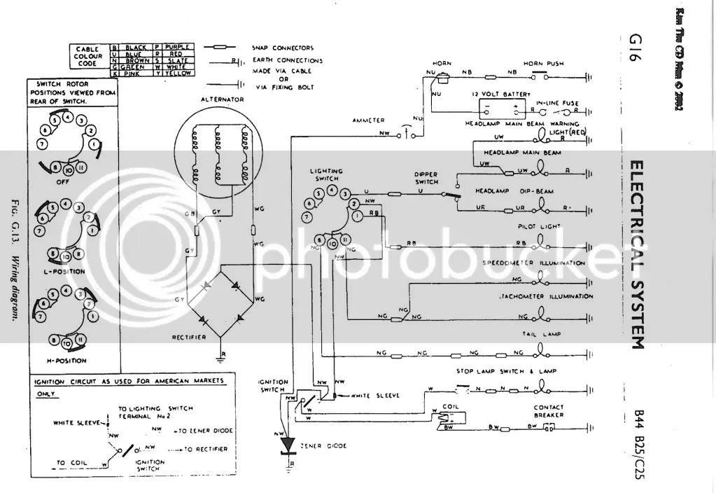 1980 triumph tr7 wiring diagram