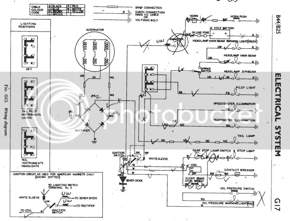 medium resolution of 1969 spitfire wiring diagram